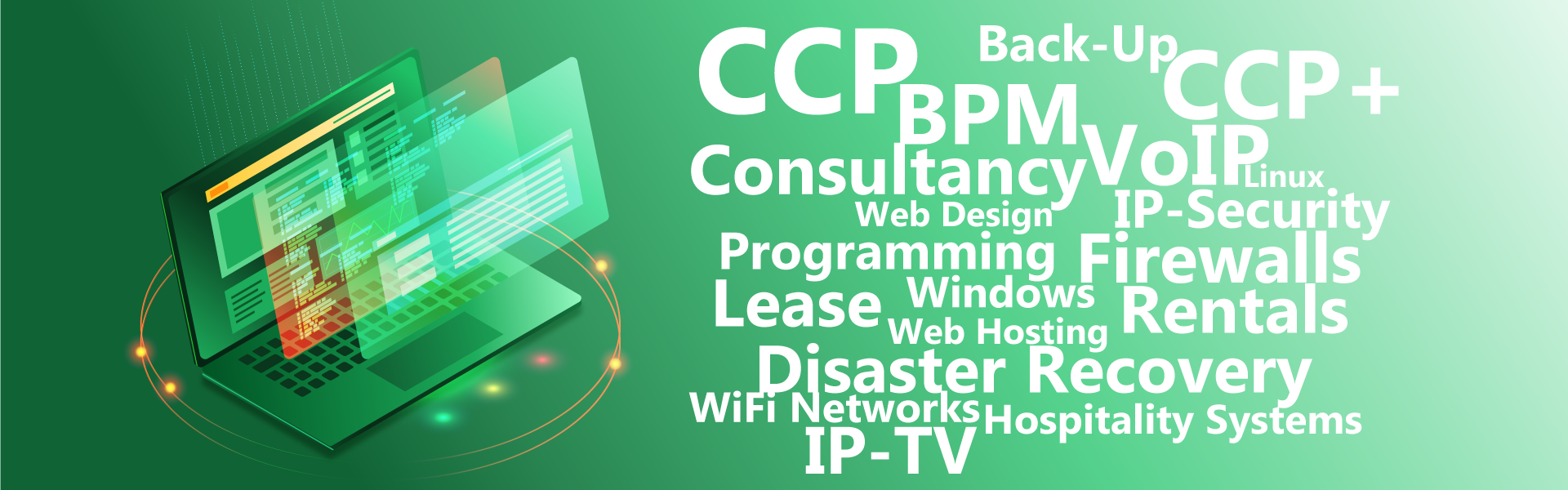 Services by novoteqnica - cpp, backup, lease, iptv, voip, programming