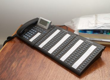 VoIP Grandstream Receptionist Phone configured with 50 lines